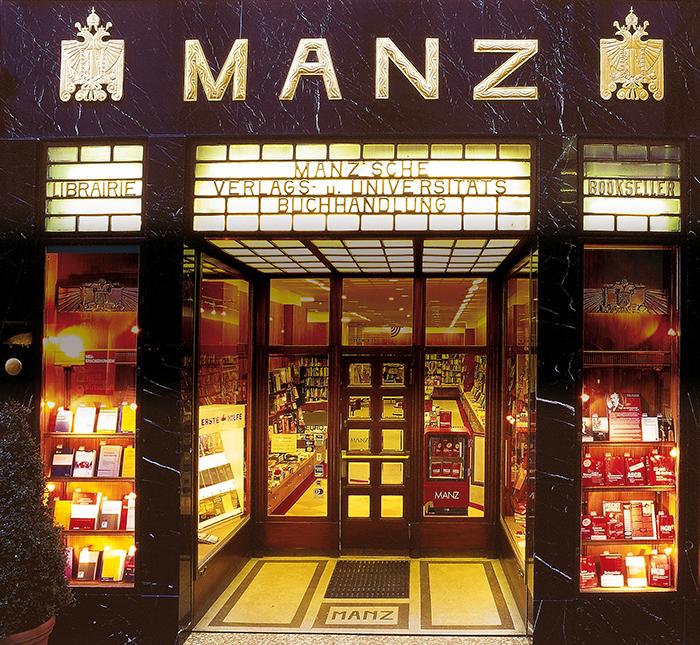 Manz Buchhandlung (c) Manz Verlag, Wien